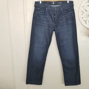 7forallmankind size 34 slouchy jeans